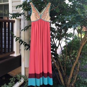 Gorgeous Maxi Dress. Very good condition. Size M
